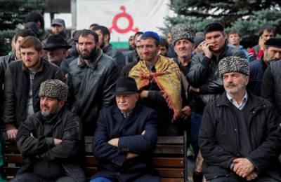 Парламент Ингушетии повторно рассмотрит договор о границе с Чечней