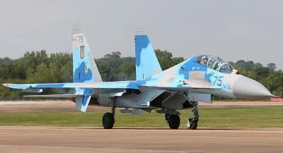 На Украине подтвердили гибель двух пилотов при крушении Су-27