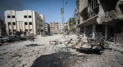 Коалиция бомбит дома мирных жителей в Сирии