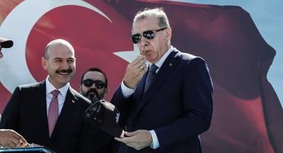 Эрдоган виртуально поговорил с Трампом о Брансоне