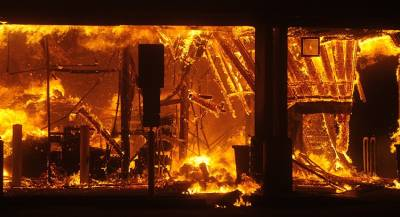 Пожар уничтожил калифорнийский город Парадайс