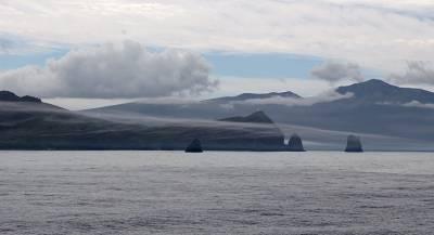Японский остров исчез у берегов Курил