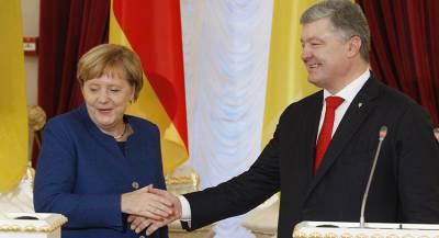 Меркель заговорила по-украински в Киеве