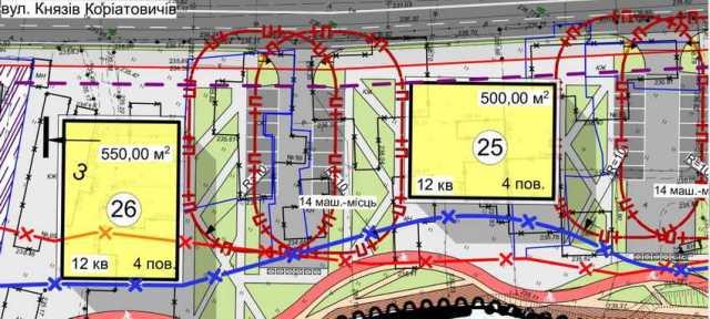 У Вінниці планують побудувати нову набережну і житлові квартали від Староміського до Центрального мосту (план)