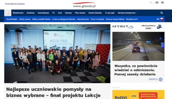 Patologia w Gdańsku. Ponad 4 mln zł rocznie za miejski portal Gdańska