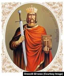 Київський князь Володимир Великий. Малюнок Олексія Штанка