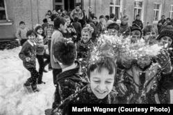 Про такі зими у Славську мріють. Славське, 1998 рік. Фото Мартіна Вагнера