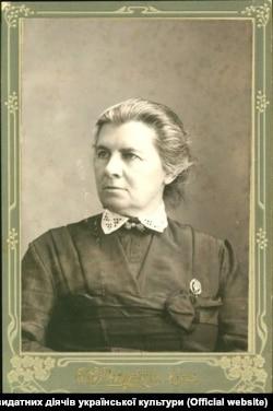 Письменниця Олена Пчілка (1849–1930), мати Лесі Українки (Лариси Косач-Квітки)