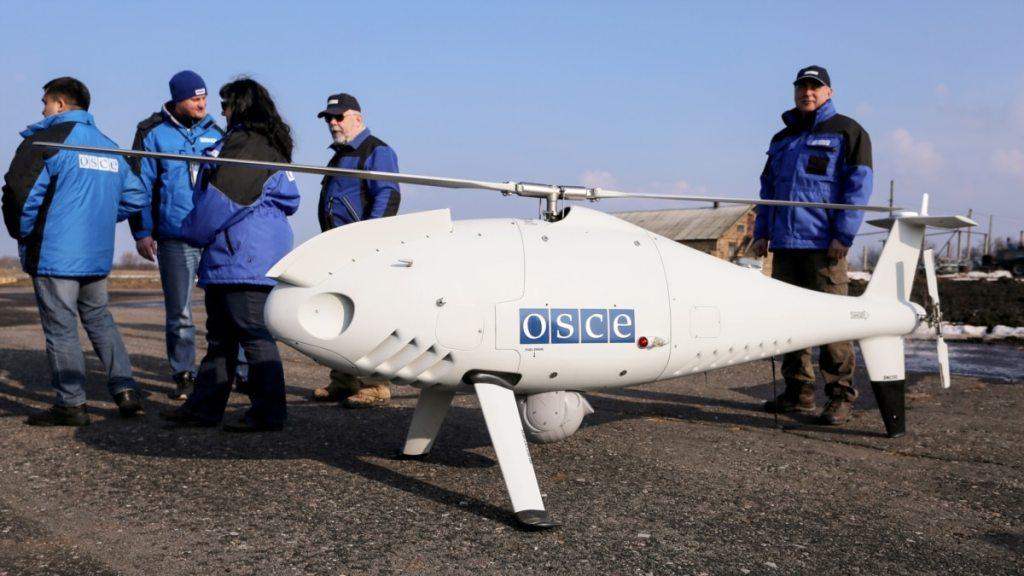 В ОБСЄ повідомили про новий випадок глушіння її безпілотників на Донбасі
