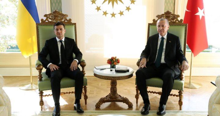 Зеленський розпочав візит до Туреччини