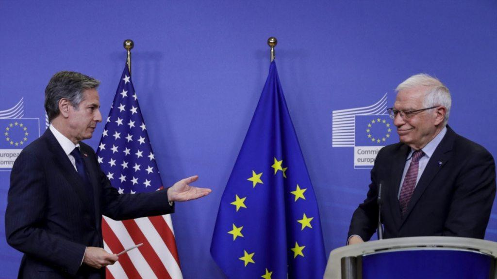 Керівники зовнішньополітичних відомств ЄС і США говорили про Україну та російську загрозу