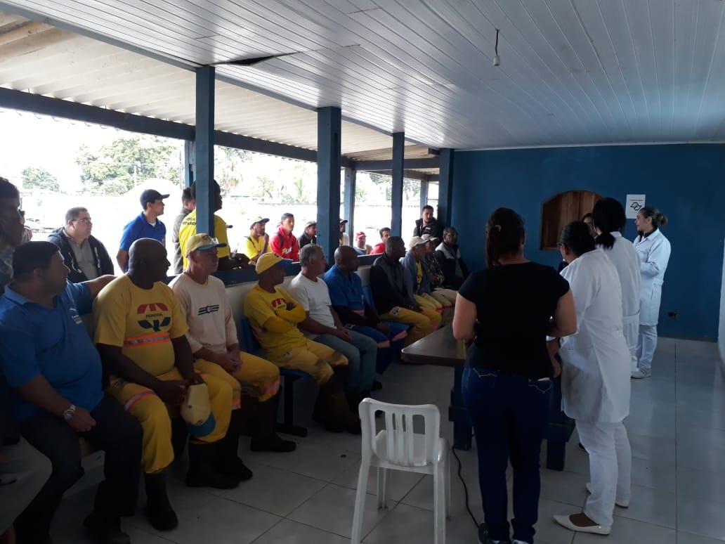Ação do Novembro Azul chega aos funcionários da Regional Norte da Sesep