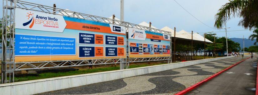Desafio de Vôlei com craques da seleção brasileira marca início da Arena Verão neste final de semana