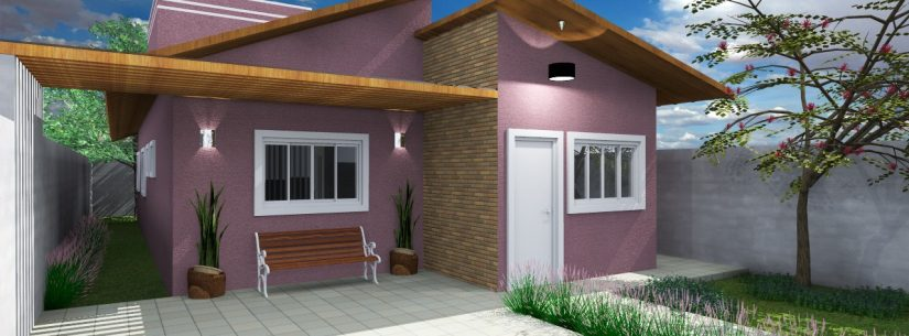 Programa de casas populares é ampliado para plantas de 100m²