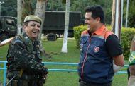 Prefeito conhece base do Exército Brasileiro para treinamento militar no município
