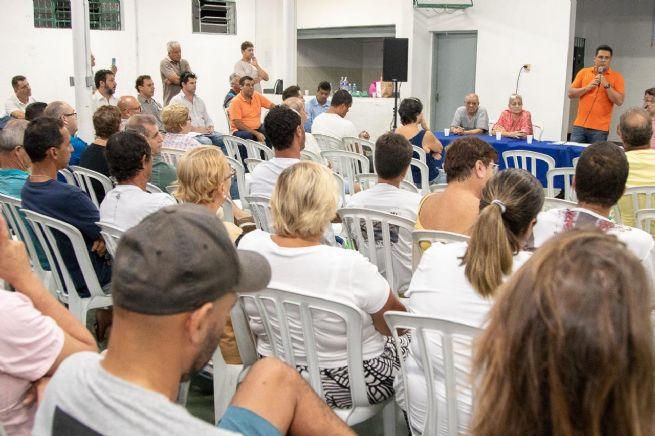 Prefeito participa de reunião com moradores do bairro São Francisco