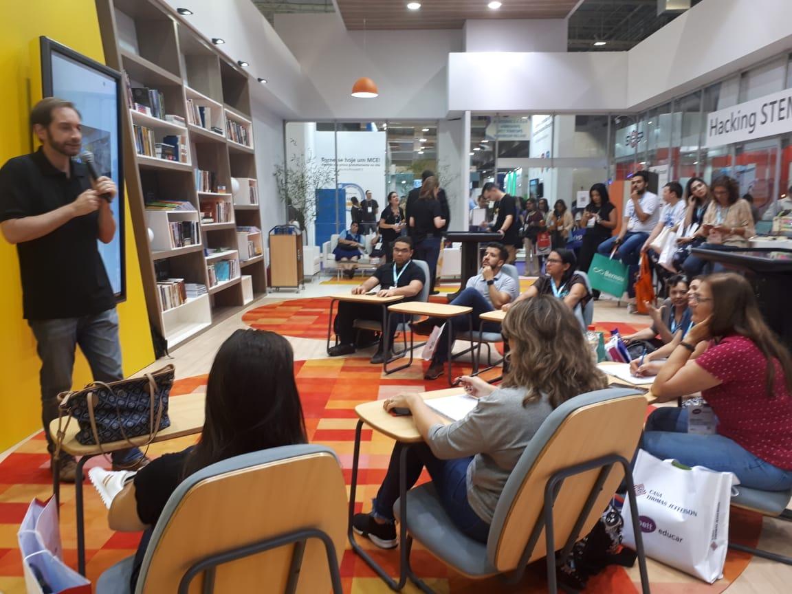 Secretaria de Educação de Ilhabela participa do Congresso Bett Educar 2019