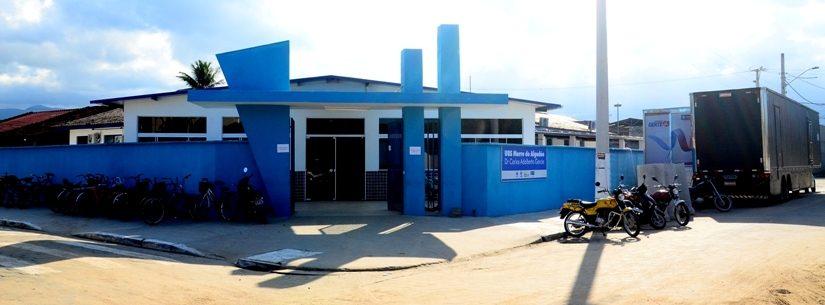Carreta da Saúde chegou à UBS Morro do Algodão nesta segunda-feira (10/06)
