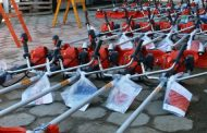 Renovando a frota, Sesep recebe 34 novas roçadeiras laterais