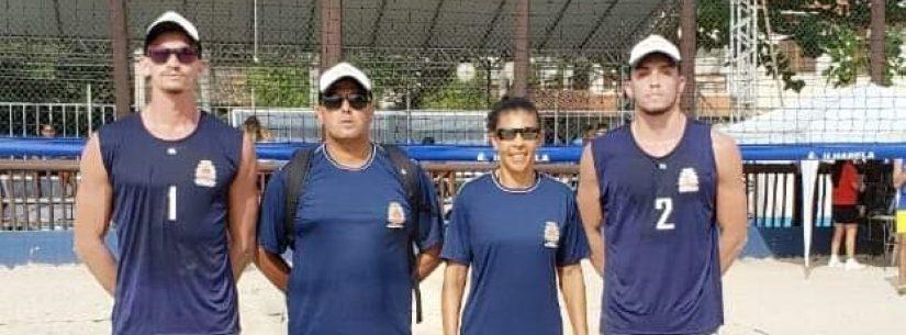 Caraguatatuba é campeã do vôlei de praia masculino dos 63º Jogos Regionais do Interior