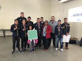 Prefeita Gracinha Ferreira visita servidoras e atletas de Ilhabela na  63ª edição do Jogos Regionais