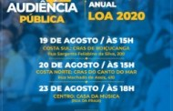 Prefeitura de São Sebastião realiza audiências públicas para elaboração da Lei Orçamentária Anual