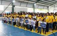 Abertura dos Jogos Interescolares fortalece comunidade estudantil em São Sebastião