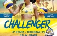 Última Etapa Circuito Challenger Banco do Brasil de Vôlei de Praia Teresina/PI.