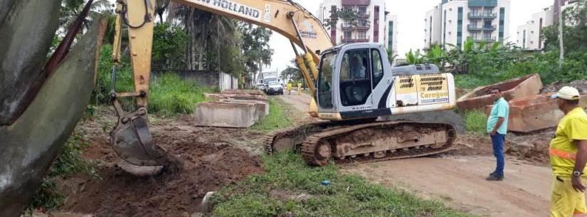 Rio Capricórnio recebe serviços de prevenção de enchentes