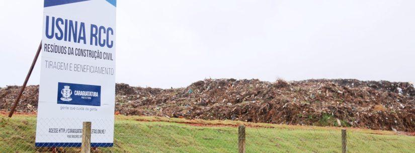 Caraguatatuba reaproveita mensalmente 8 mil toneladas de resíduos urbanos em Usina de Reciclagem