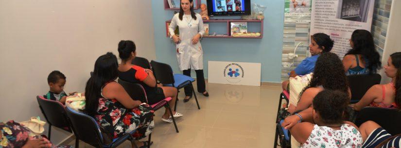 Mais de 100 gestantes recebem kit enxoval do Fundo Social de Caraguatatuba em 2019