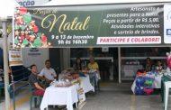 Bazar de Natal do Fundo Social de Caraguatatuba segue até sexta-feira (13)