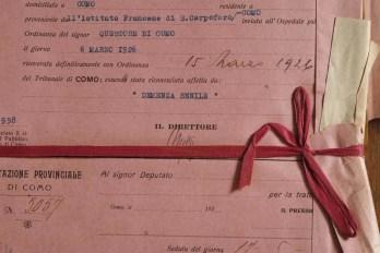 0049 scheda con nastro 1926