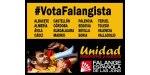 Próximos actos electorales de Falange Española de las JONS