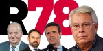 PSOE, PP y VOX, unidos en defensa del Régimen del 78