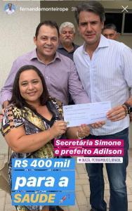 Inajá - Adilson e Fernando Monteiro - Saúde