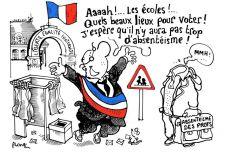 Caricature de Plantu, paru dans le Monde.fr