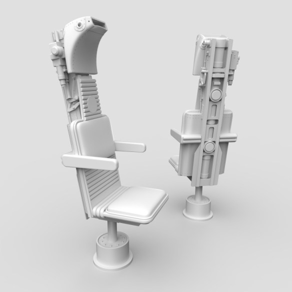 Millenium Falcon Nav Comm Seats