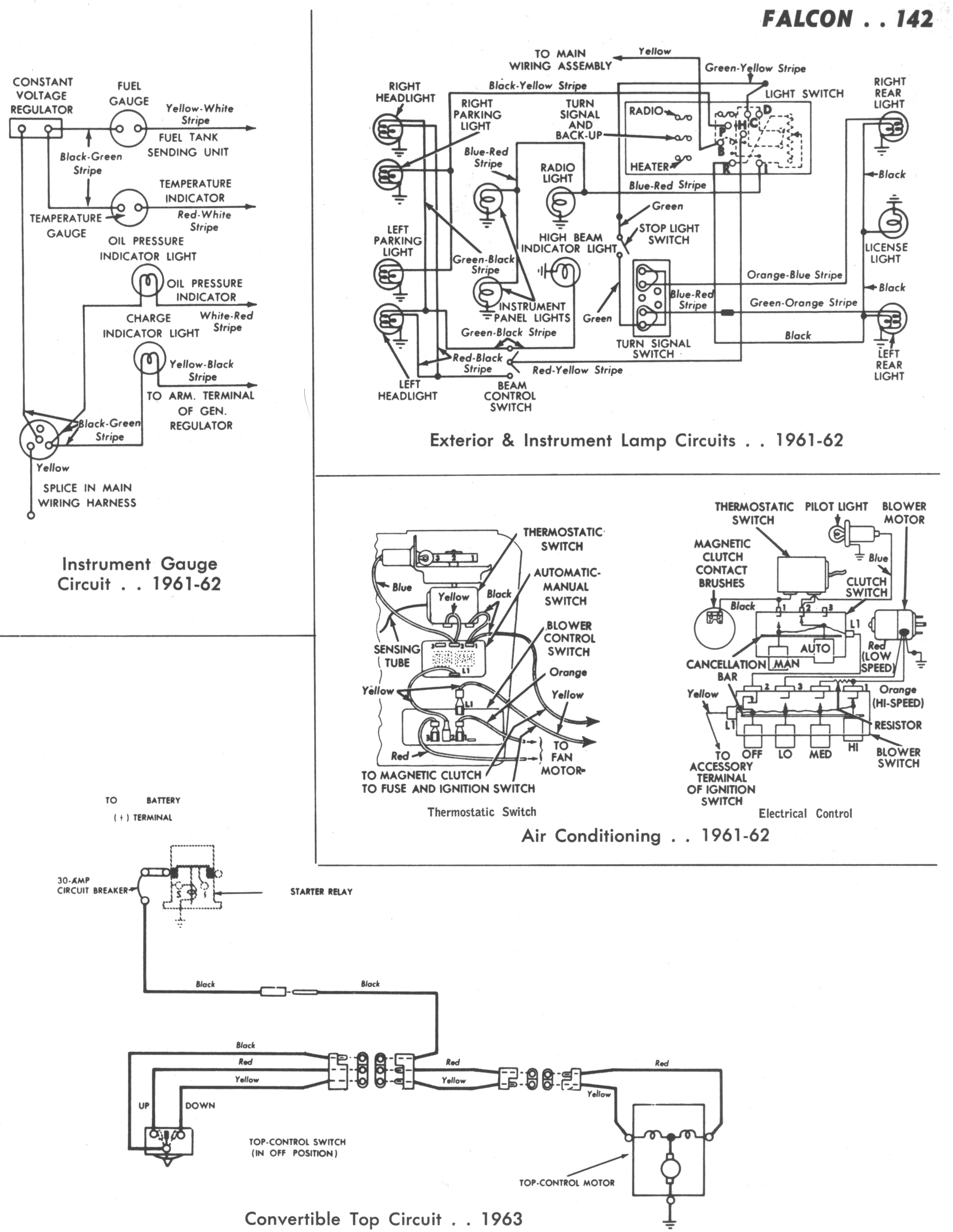 Corvair Turn Signal Wiring Diagram