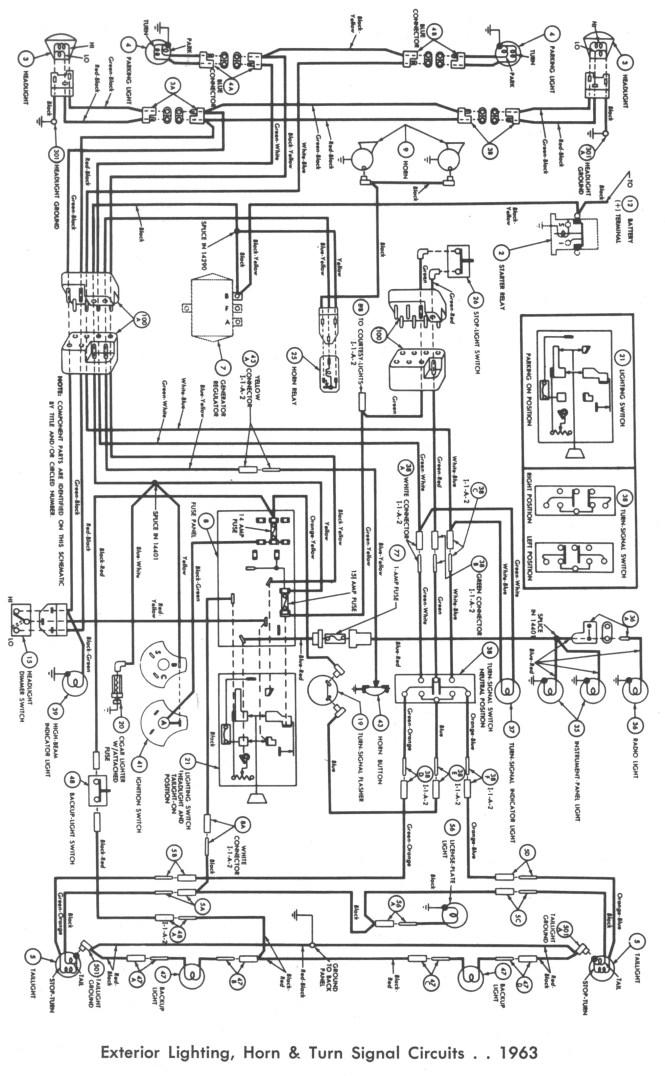 1964 ford f100 wiring diagram solenoid 1971 f250 1955 thunderbird, Wiring diagram
