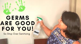 Stop sanitizing everything