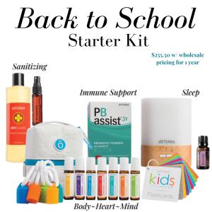 Back to School doTERRA Essential Oil Starter Kit