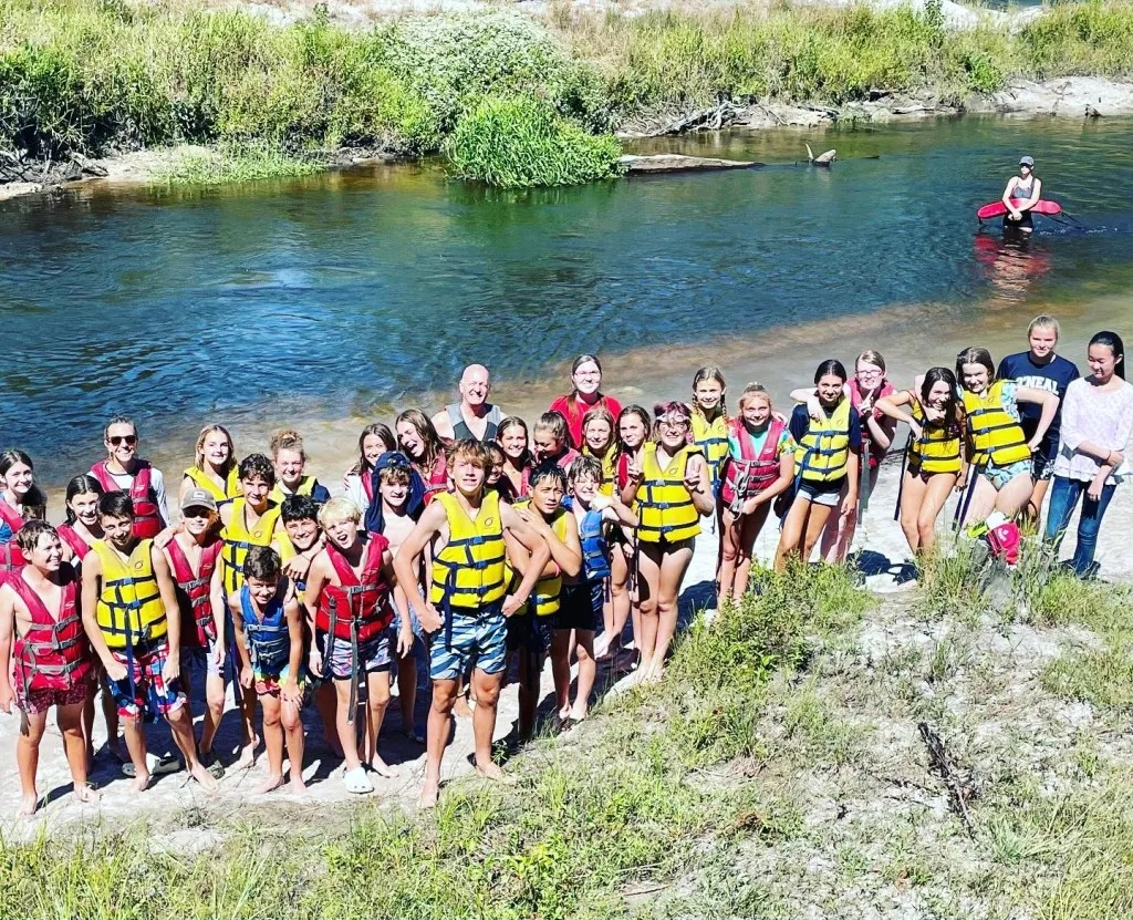 Seventh Grade Class Trip to Camp Rock Fish 2021