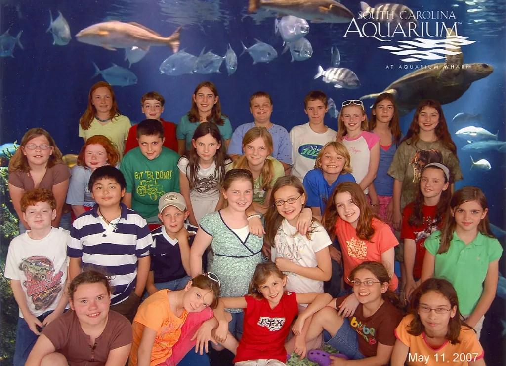 Fifth Grade Trip to Charleston 2006