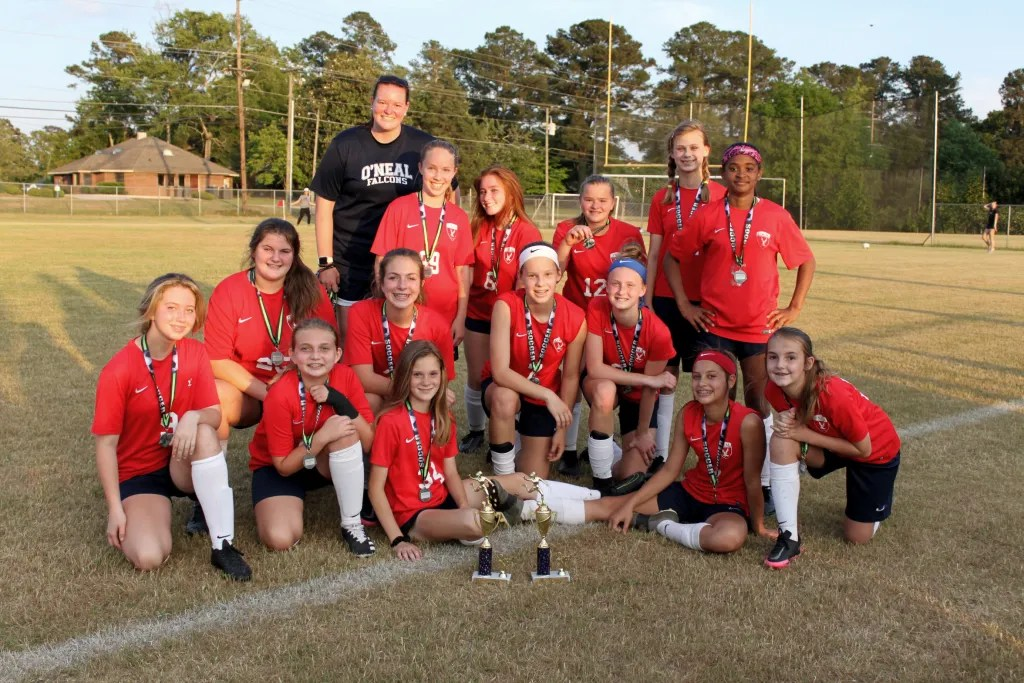 Middle School Girls Soccer eanrs conference runner up in 2021.
