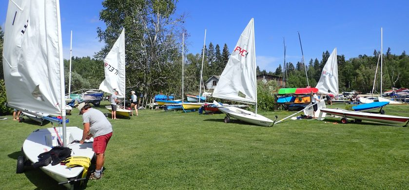 Rigging for Commodore's Cup