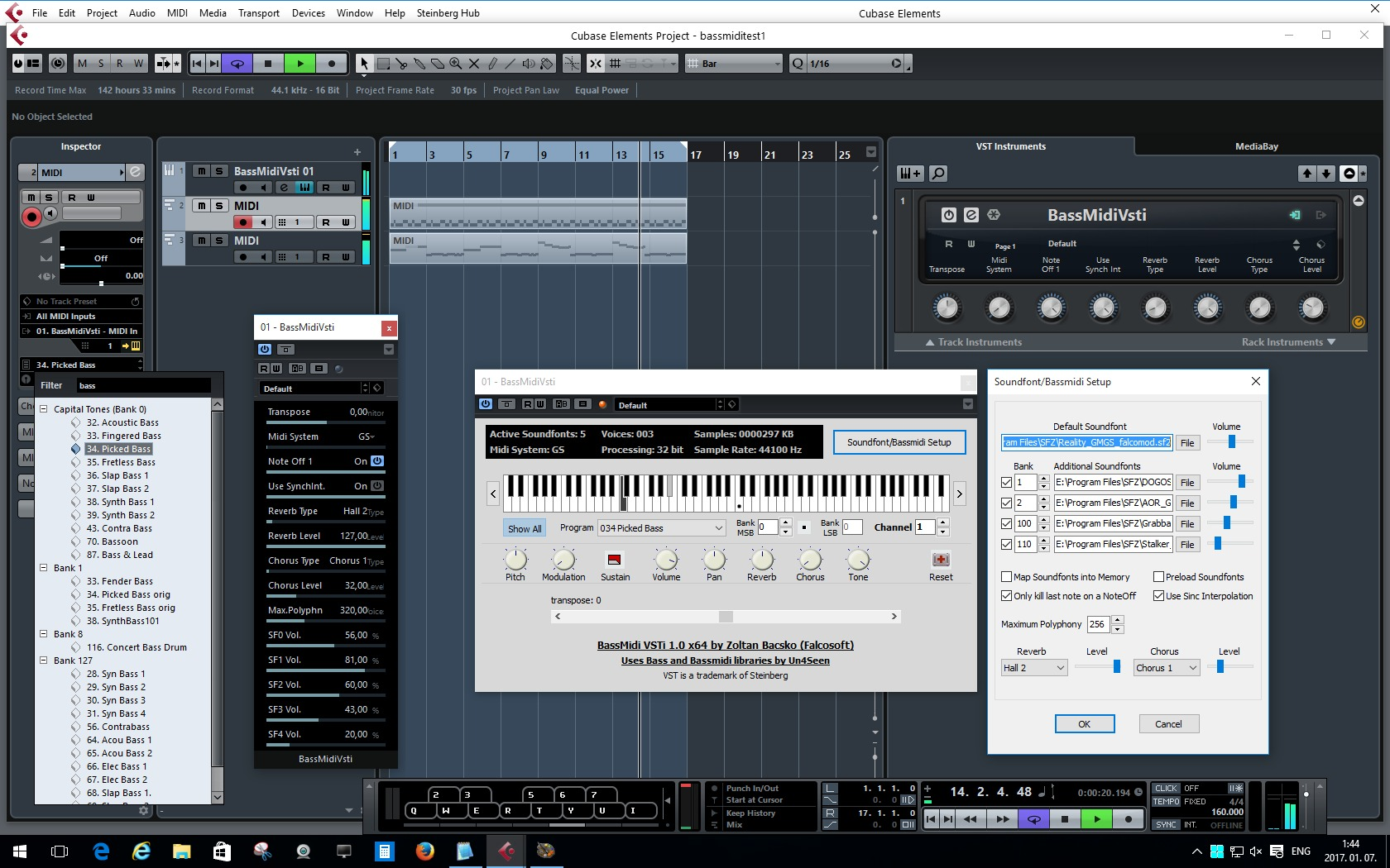 Using SoundFonts in 2016 | S  Christian Collins
