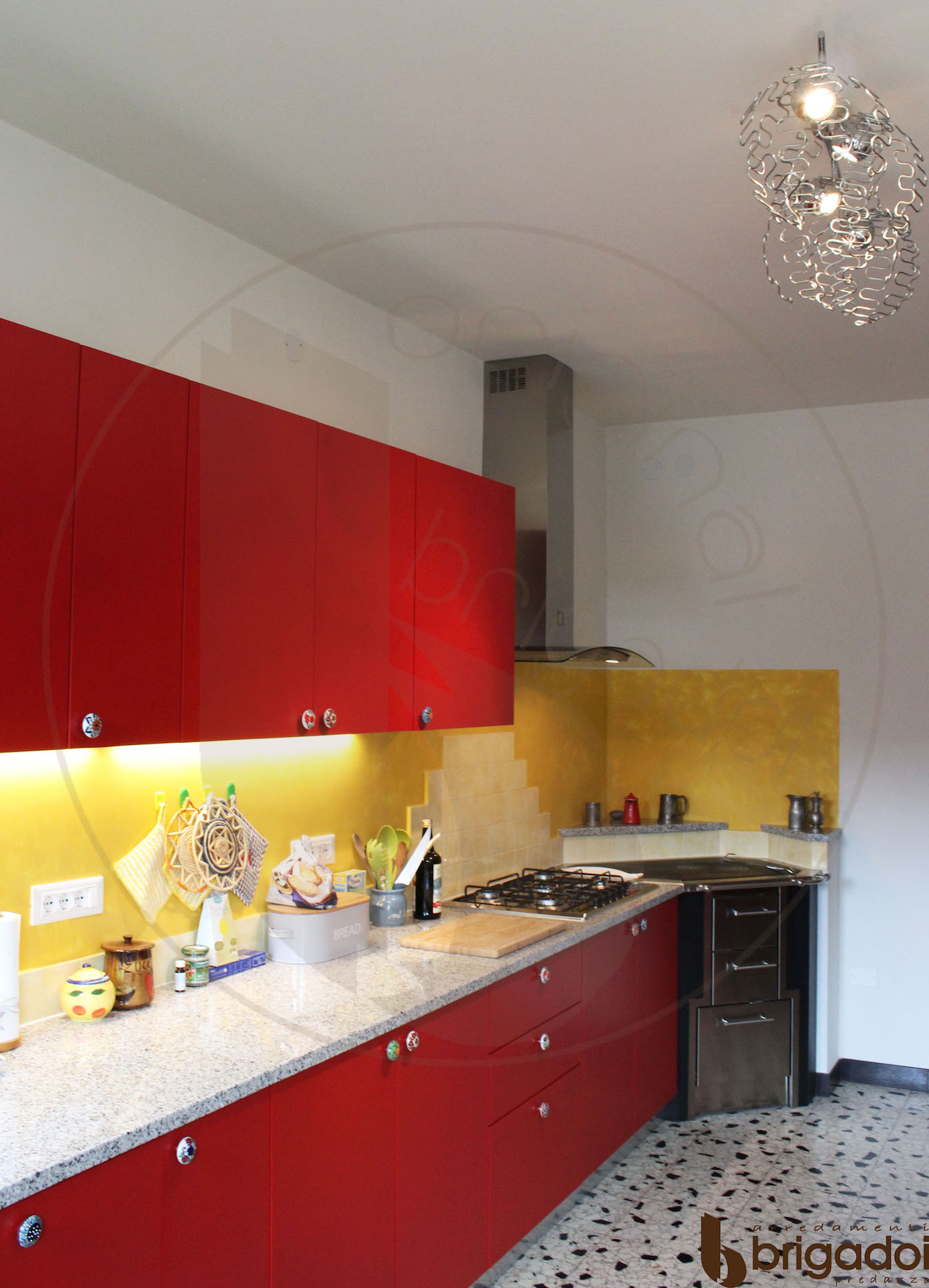 cucina moderna arredamenti brigadoi falegnameria val di fiemme trentino