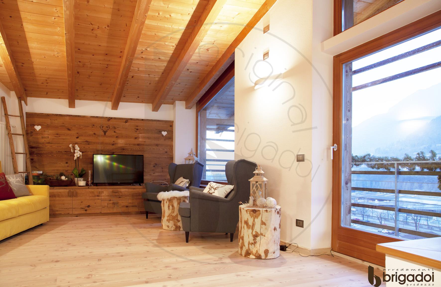 arredamenti falegnameria brigadoi legno trentino val di fiemme design mountain dolomiti