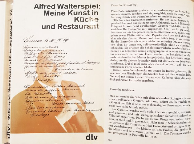 Alfred Walterspiel - Rumpsteak Strindberg